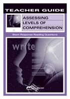 Assessing Levels of Comprehension: Short Response D Teacher Guide