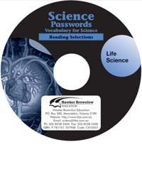 Science Passwords:  Vocabulary for Science - Life Science (Audio CD)
