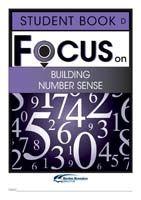 Focus on Maths: Building Number Sense - Student D (Set of 5)