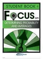 Focus on Maths: Determining Probability and Averages - Student E (Set of 5)