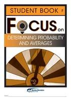 Focus on Maths: Determining Probability and Averages - Student F (Set of 5)