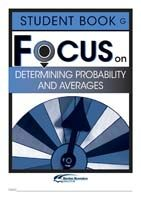 Focus on Maths: Determining Probability and Averages - Student G (Set of 5)
