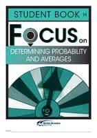 Focus on Maths: Determining Probability and Averages - Student H (Set of 5)