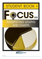 Focus on Maths: Interpreting Graphs and Charts - Student B (Set of 5)