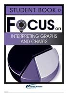 Focus on Maths: Interpreting Graphs and Charts - Student D (Set of 5)