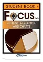Focus on Maths: Interpreting Graphs and Charts - Student F (Set of 5)