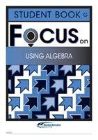 Focus on Maths: Using Algebra - Student G (Set of 5)