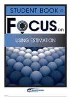 Focus on Maths: Using Estimation - Student G (Set of 5)