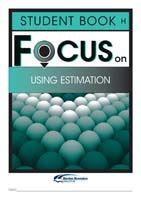 Focus on Maths: Using Estimation - Student H (Set of 5)