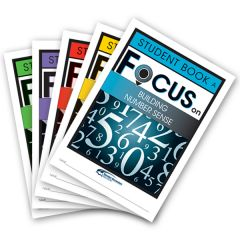 Focus: Building Number Sense Mixed Pack Student Books A-E
