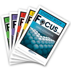 Focus: Using Estimation Mixed Pack Student Books A-E