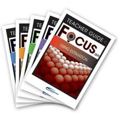 Focus: Using Estimation Mixed Pack Teacher Books C-G
