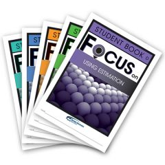 Focus: Using Estimation Mixed Pack Student Books D-H