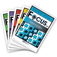 Focus: Using Algebra Mixed Pack Student Books A-E