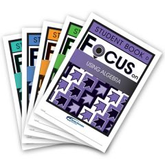 Focus: Using Algebra Mixed Pack Stud D-H