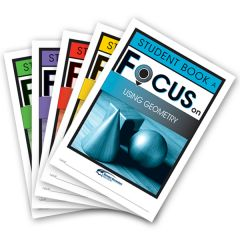 Focus: Using Geometry Mixed Pack Student Books A-E