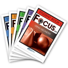 Focus: Using Geometry Mixed Pack Student Books C-G