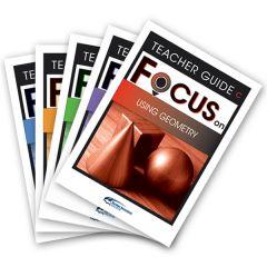 Focus: Using Geometry Mixed Pack Teacher Books C-G