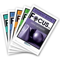 Focus: Using Geometry Mixed Pack Student Books D-H