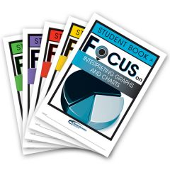 Focus: Interpreting Graphs and Charts Mixed Pack Student Books A-E