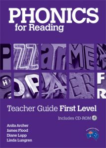 Phonics for Reading Teacher Guide First Level