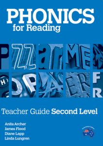 Phonics for Reading Teacher Guide Second Level
