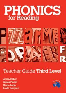 Phonics for Reading Teacher Guide Third Level