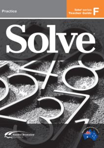 Solve Series F Teacher Guide