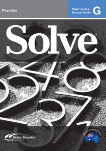 Solve Series G Teacher Guide
