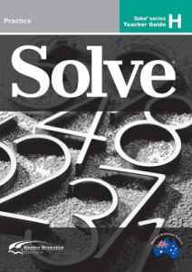 Solve Series H Teacher Guide