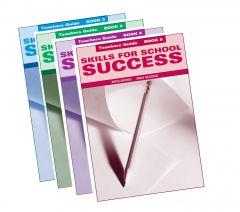 Skills for School Success Teacher Book Set of 4