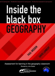Inside the Black Box: Geography