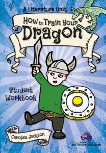 A Literature Unit: How to Train Your Dragon Student Workbook (Set of 5)