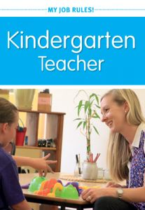 My Job Rules! Kindergarten Teacher (Set of 5)
