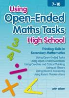 Using Open-Ended Maths Tasks - High School