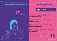 Poster: Emotional Intelligence Secondary - Self-Regulation
