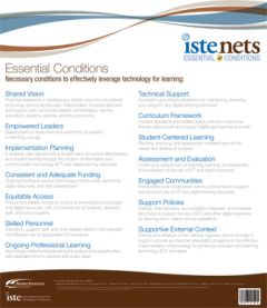 Poster: National Educational Technology Standards (NETS): Essential Conditions