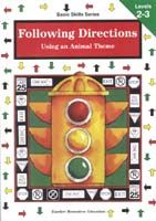 Basic Skills Series: Following Directions - Using an Animal Theme Levels 2-3