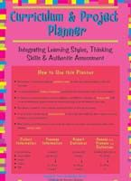 Curriculum and Project Planner for Integrating Learning Styles, Thinking Skills and Authentic Instruction