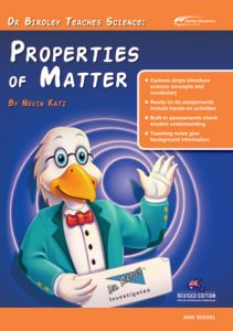 Dr Birdley Teaches Science: Properties of Matter