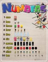 Poster: Ready to Learn - Numbers