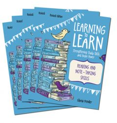 Learning to Learn: Reading and Note-Taking Skills (Set of 5)