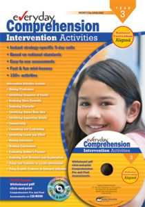 Everyday Comprehension Intervention Activities: Years 3-4