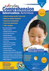 Everyday Comprehension Intervention Activities: Years 5-6