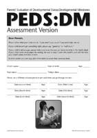 PEDS DM Assessment Level Booklet (Set of 25)