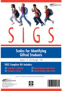 SIGS Complete Kit: Scales for Identifying Gifted Students