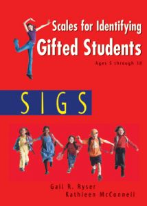 SIGS Examiners Manual: Scales for Identifying Gifted Students