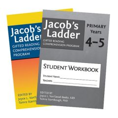 Jacob's Ladder Gifted Reading Comprehension Program: Primary Years 4-5 + Student Workbook