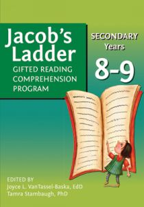 Jacob's Ladder Gifted Reading Comprehension Program: Secondary Years, 8-9