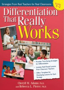 Differentiation That Really Works: Strategies From Real Teachers for Real Classrooms (Years F-2)